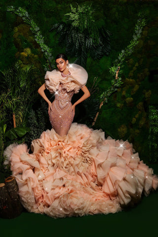 Haute Couture Evening Dress