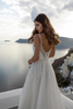 Tresor Spaghetti Straps Wedding Dress