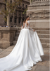 Ivory Duchess Satin Wedding Dress