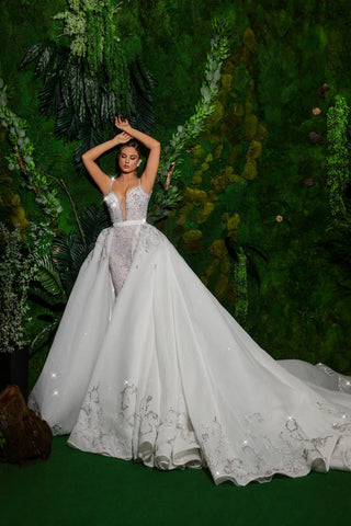 Detachable Wedding Dress Mermaid