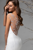 Portrait Back Lace Tattoo Silhouette