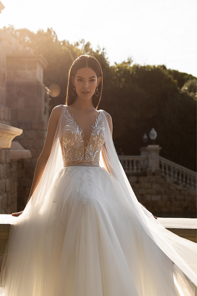 A Line Wedding Dress Chiffon
