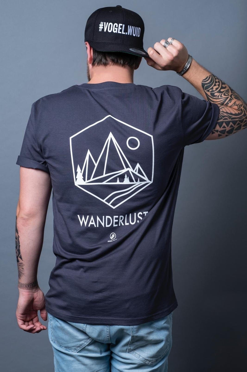 Shirt - Wanderlust anthrazit
