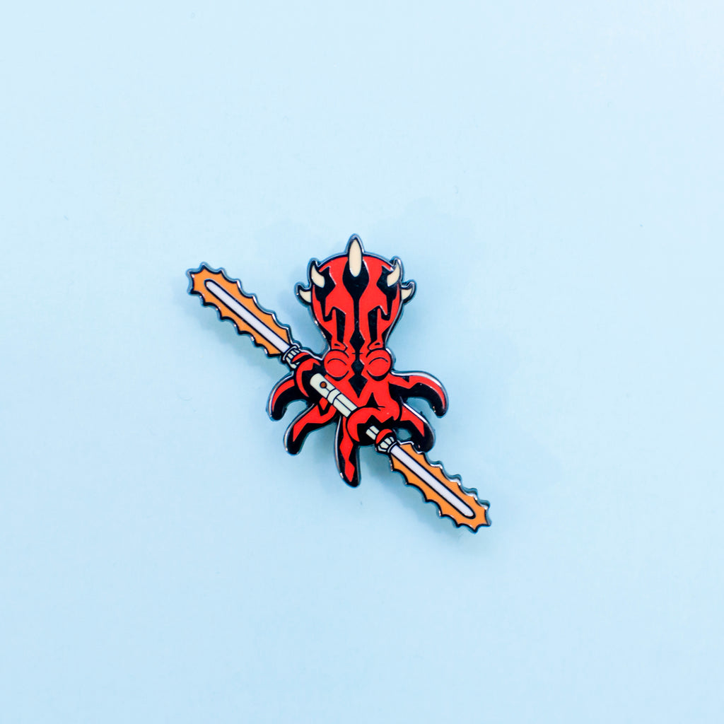 DARTH MAULLUSK PIN - GeekPins