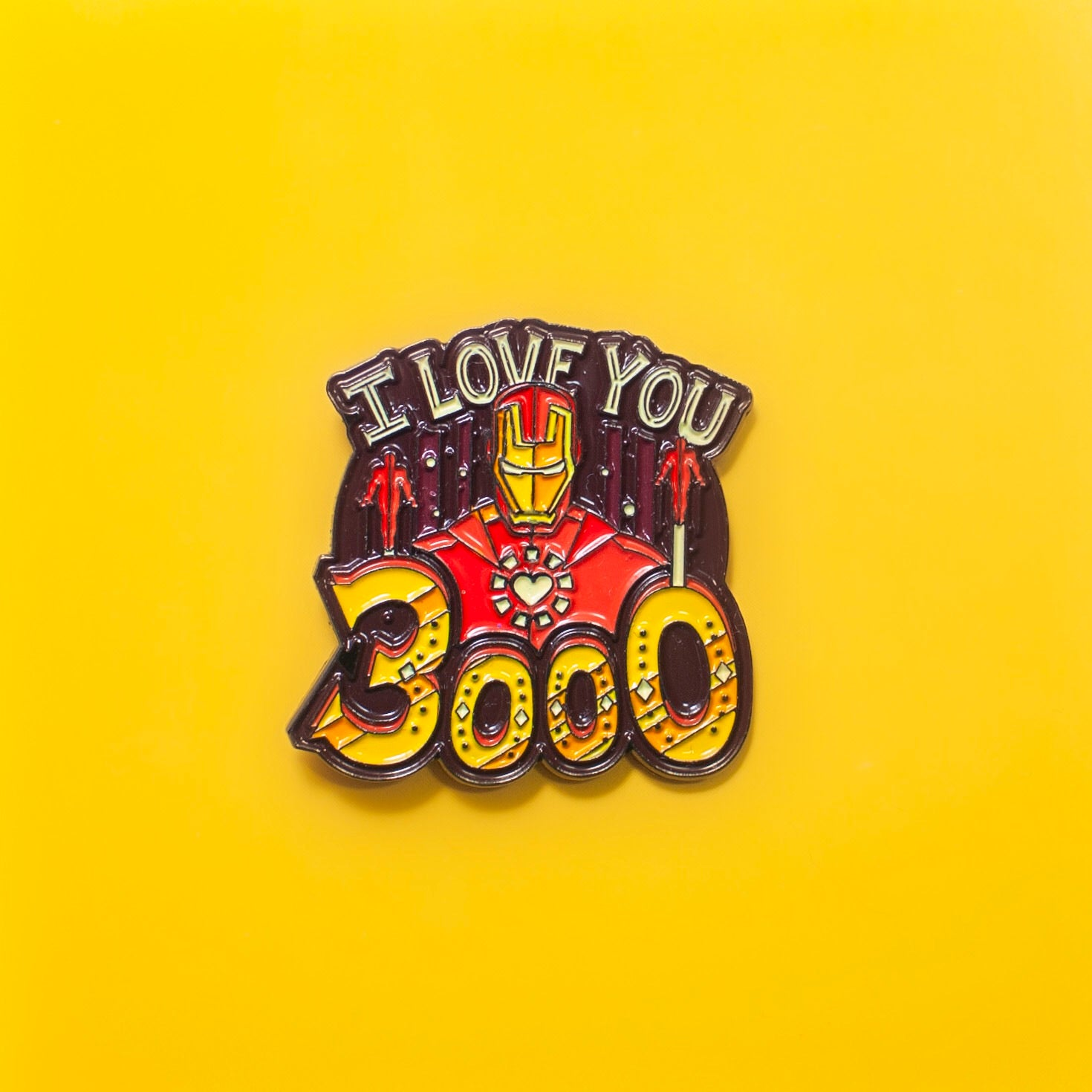 I LOVE YOU 3000 PIN - GeekPins