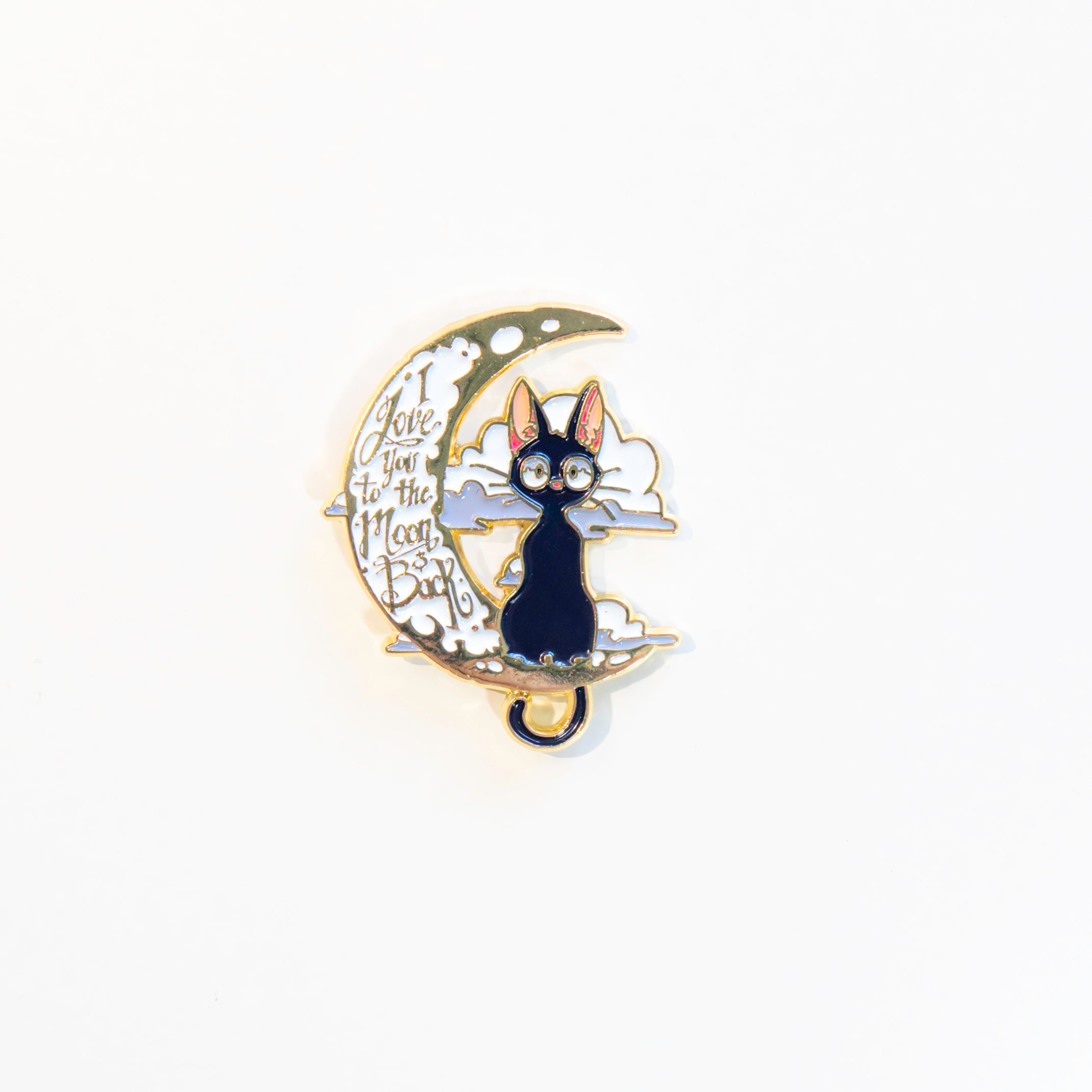 I LOVE YOU TO THE MOON & BACK PIN