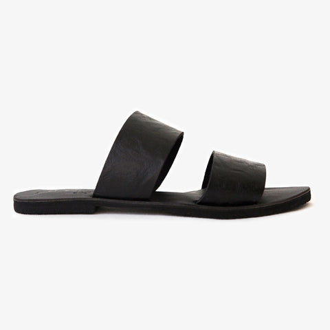 Peloton Slide - Black Suede