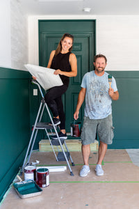 Working on the garage mudroom makeover with Clayton Homes was such a huge inspiring moment for me