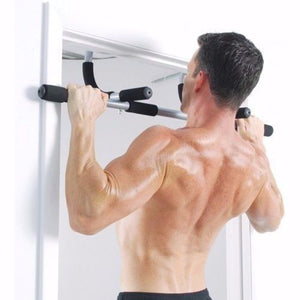 There is no better way to improve your upper body strength then by using a pull up bar