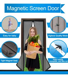 Choosing the best and correct Magnetic screen door is critical, for it not only has to function correctly but also look nice and stylish
