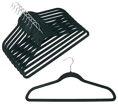 Little Space Velvet Hangers Bulk