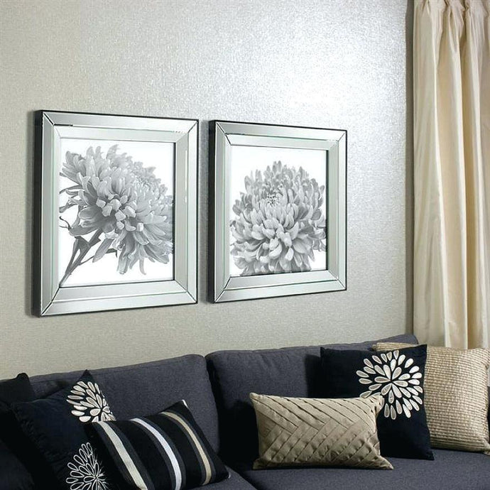 Good Looking Mirrored Picture Frames For Wall