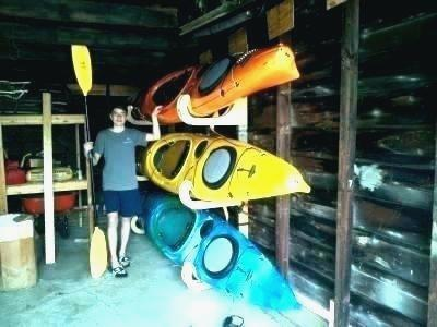 Gratifying Kayak Garage Storage