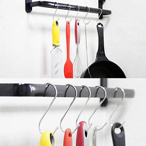 Discover the 30 pack large s shaped hanging hooks s hangers for kitchen office bathroom cloakroom and garden heavy duty s hooks by krendr