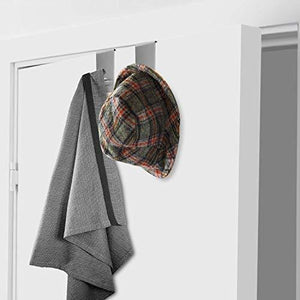 Featured over the door hooks hanger towel rack 18 8 stainless steel multiple use z shaped hanging over door hooks use for kitchen bathroom bedroom office cabinet door storage organizer 2 pack