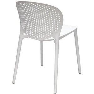Storage 2xhome white contemporary modern stackable assembled plastic chair molded with back armless side matte for dining room living designer outdoor lightweight garden patio balcony work office desk kitchen