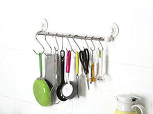 Buy now prudance small round s shaped stainless steel hanging hooks set with 10 hooks ideal for pots pans spoons other kitchen essentials perfect for clothing