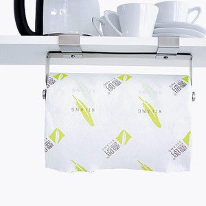 Purchase hasen under cabinet paper towel holder paper towel hanger brushed stainless steel paper towel rack kitchen paper towel holder no screws needed