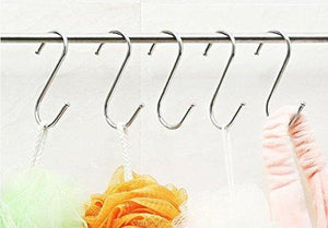 Save on sumdirect 100pcs scarf apparel punch cup bowl kitchen s shaped silver tone metal hanging hooks