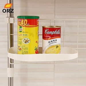 Shop here gano zen kitchen adjustable shelf creative seasoning condiment pot holder cooking utensil hanger kitchen organizer storage rack