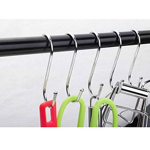Heavy duty betrome 20 pack 3 3 s hooks heavy duty s shaped hooks s shape hangers for kitchen bathroom bedroom and office