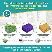 Great cleaning rags thmer 18 pcs microfiber cleaning cloths for kitchen car windows glass bathroom highly absorbent no fabric soft microfiber 12x16 inches