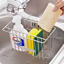 Products chilholyd sponge holder sink caddy sink organizer caddy kitchen brush soap stainless steel hanging drain basket for soap brush dishwashing liquid sink organizer drainer rack