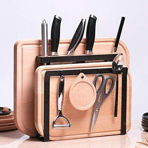 The best holymood kitchen houseware organizer knife block storage drying rack cutting board stand tools holder only
