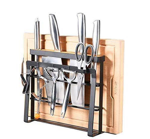 Shop here holymood kitchen houseware organizer knife block storage drying rack cutting board stand tools holder only