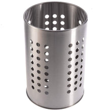Get kitchen utensil holder 7 stainless steel cooking silverware storage stand flatware organizer stovetop drying caddy