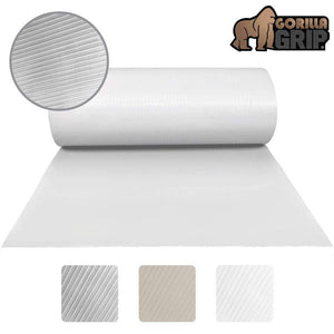 Save gorilla grip ribbed top drawer and shelf liner non adhesive roll 17 5 inch x 20 ft durable and strong grip liners for drawers shelves kitchen cabinets storage kitchens and desks clear ribbed