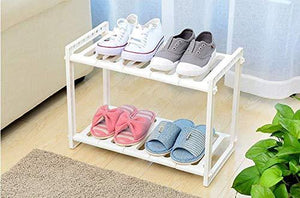 Try telescopic stand storage shelf 2 tiers under sink organizers expandable storage space saving for kitchen garden home