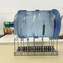 Products adjustable rack pot lid pan shelf dish drainer shelves multifunctional organizers for the kitchen large with 7 holders