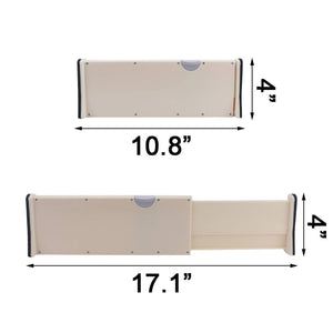 The best ogrmar 3pcs 10 8 17 1 expandable drawer dividers adjustable dresser drawer organizer separators for kitchen bedroom bathroom closet and office drawers