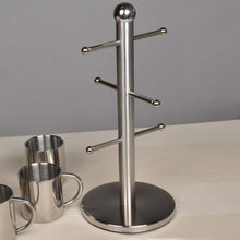Results mug cups holder kitchen accessories holds 6 cups and dishes stain nikckel stainless steel