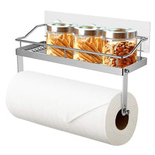 Related odesign 2 in 1 paper towel holder with shelf for kitchen shower bathroom sus 304 stainless steel no drilling