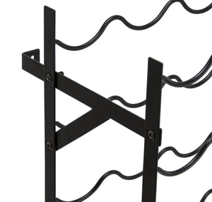 Cheap sorbus display rack large capacity wobble free shelves storage stand for bar basement wine cellar kitchen dining room etc black height 40 100 bottle