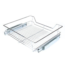 Great gototop kitchen sliding cabinet organizer pull out chrome wire storage basket drawer for kitchen cabinets cupboards 20 3 17 35 3