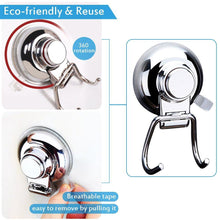 Get bathroom hook towel hooks bathroom hook with suction cup hook holder removable shower kitchen hooks hanger stainless steel heavy duty wall hooks for towel robe home kitchen bathroom 2 pack