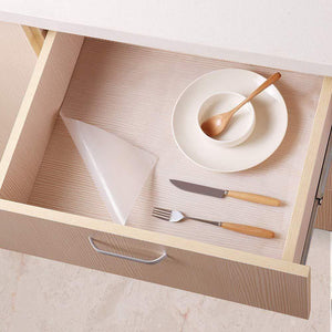 Purchase bloss plastic shelf liners cabinet drawer liner non slip shelf liner non adhesive refrigerator mat cupboard pad no odor for kitchen home clear 17 7 59 inch