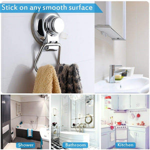 Explore bathroom hook towel hooks bathroom hook with suction cup hook holder removable shower kitchen hooks hanger stainless steel heavy duty wall hooks for towel robe home kitchen bathroom 2 pack