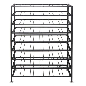 Related homgarden 54 bottle free standing deluxe large foldable metal wine rack cellar storage organizer shelves kitchen decor cabinet display stand holder