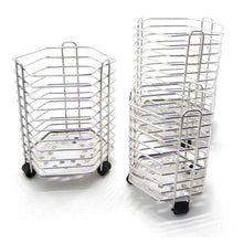 Heavy duty bignay stainless steel kitchen utensil holder caddy holder brushed stainless steel cookware cutlery utensil holder pack of 3