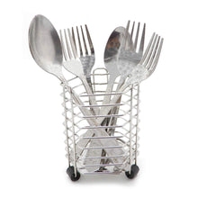 Get bignay stainless steel kitchen utensil holder caddy holder brushed stainless steel cookware cutlery utensil holder pack of 3