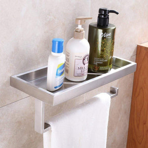 Exclusive kitchen paper towel holder with shelf aplusee sus304 stainless steel bathroom toilet paper holder with wet wipes dispenser seasonings spice rack storage organizer brushed nickel