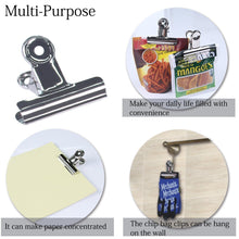 Purchase misika chip bag clips set of 12 wide 3 inch stainless steel air tight seal grip food clips bags coffee kitchen home usage office a