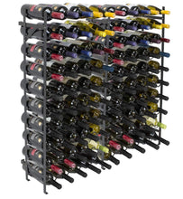 Buy now sorbus display rack large capacity wobble free shelves storage stand for bar basement wine cellar kitchen dining room etc black height 40 100 bottle