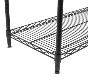 Storage internets best 6 tier wire shelving rack nsf wide flat black home storage heavy duty shelf wide adjustable freestanding rack unit kitchen business organization commercial industrial