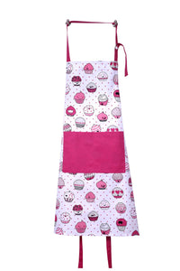 Purchase casa decors set of apron oven mitt pot holder pair of kitchen towels in a valentine cup cakes design made of 100 cotton eco friendly safe value pack and ideal gift set kitchen linen set
