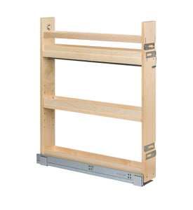 Latest century components cascade series casbo35pf base cabinet pull out kitchen organizer 3 7 8w x 26 3 4h x 21 1 2d baltic birch blum soft close slides